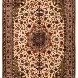 "Antique Persian Tabriz 6'6""×9'11"""