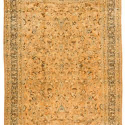 "Antique Persian Tabriz 11'8""×16'8"""