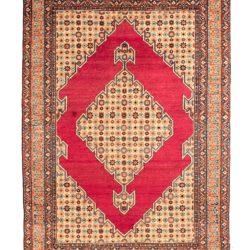 "Antique Persian Teheran 4'6""×6'3"""