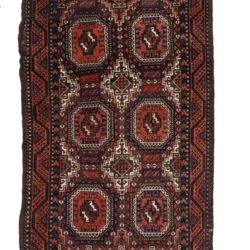 "Antique Persian Tribal Belouchi Area Rug 3'5""×6'6"""