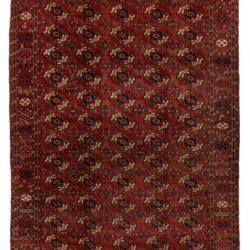 "Antique Persian Turkoman 7'6""×10'10"""