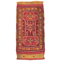 "Antique Rug Anatolian 1'10""×3'8"""