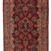 "Antique Sarouk Rug 3'8""×12'9"""