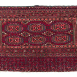 "Antique Saryk Rug 2'8""×4'11"""