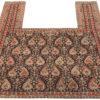 "Antique Senneh Horse Blanket 4'5""×5'6"""