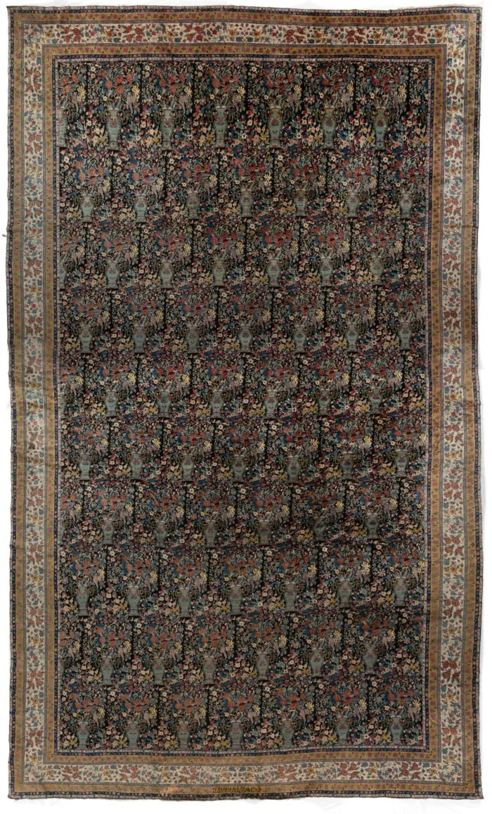 "Antique Sharistan Rug 17'5""×28'9"""