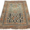 "Antique Shirvan Caucasus Tribal Rug 4'10""×5'4"""