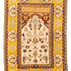 "Antique Spanish Prayer Rug 6'2""×9'0"""