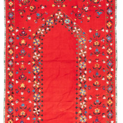 "Antique Suzani Textile 3'2""×4'10"""