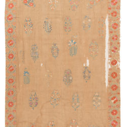 "Antique Suzani Textile 5'8""×8'11"""
