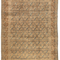 "Antique Tabriz Rug 10'10""×14'9"""