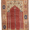 "Antique Transylvanian Prayer Rug 3'11""×5'9"""