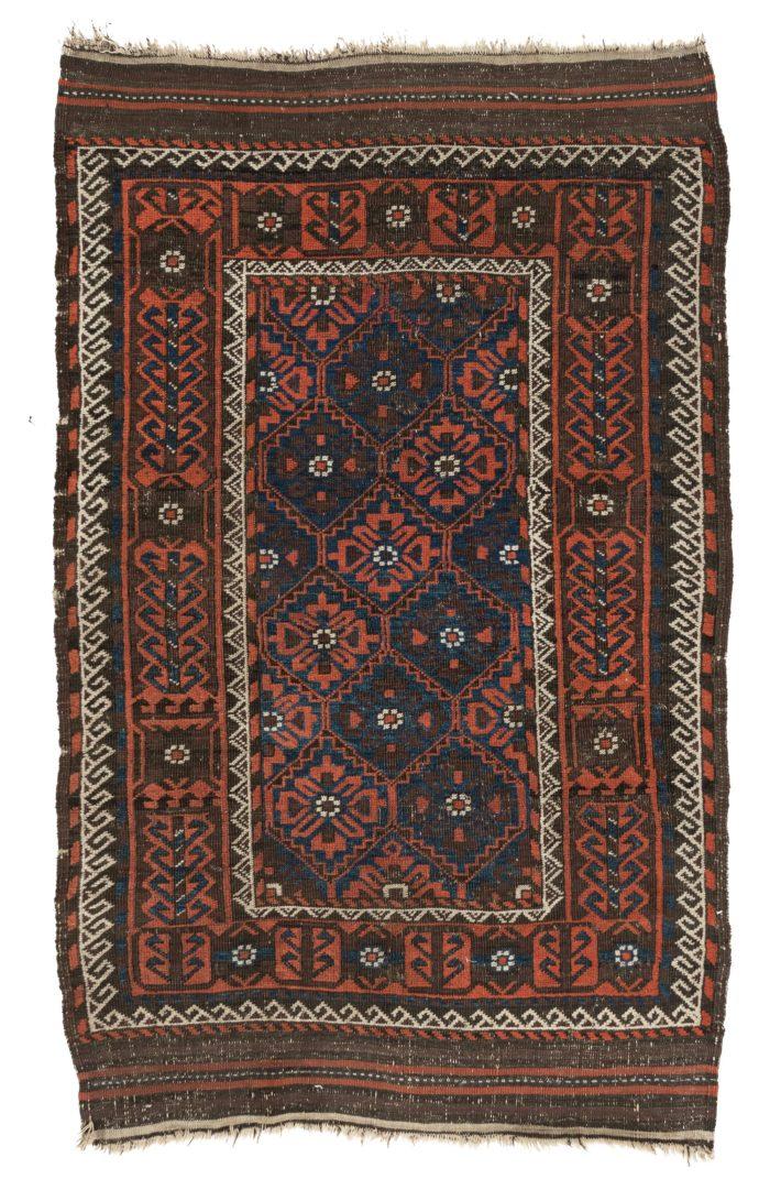 """Antique Tribal Belouchi Rug 3'6""""×5'6"""""""