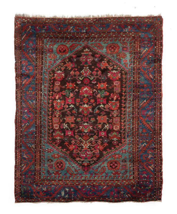 """Antique Turkish Anatolian Kula 4'8""""×7'8"""""""
