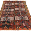"Antique Turkish Kilim 6'2""×10'5"""