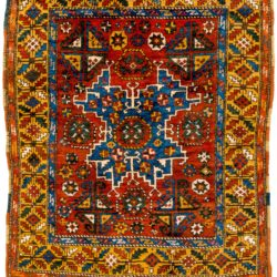 "Antique Turkish Konya 4'10""×6'10"""