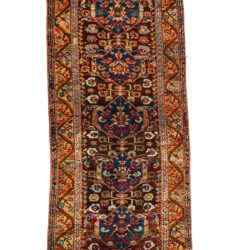 "Antique Turkish Kula 4'4""×10'7"""