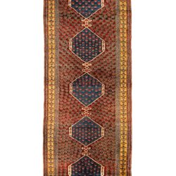 "Antique Turkish Kula 3'8""×10'2"""
