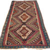 "Antique Turkish Malatya Kilim 4'10""×11'6"""