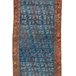 "Antique Turkish Oushak 3'10""×9'3"""