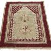 """Antique Turkish Prayer Rug 3'3""""×4'10"""""""