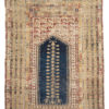 "Antique Turkish Prayer Rug 4'2""×5'3"""