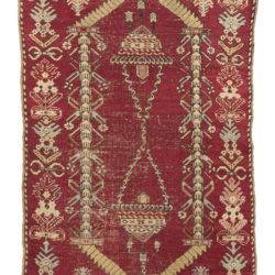 "Antique Turkish Prayer Rug 3'2""×5'7"""