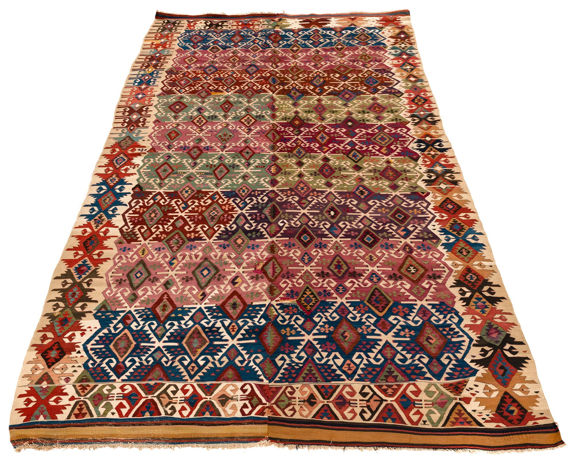 Antique Turkish Reyhanli Kilim 5 2 Quot 215 10 9 Quot