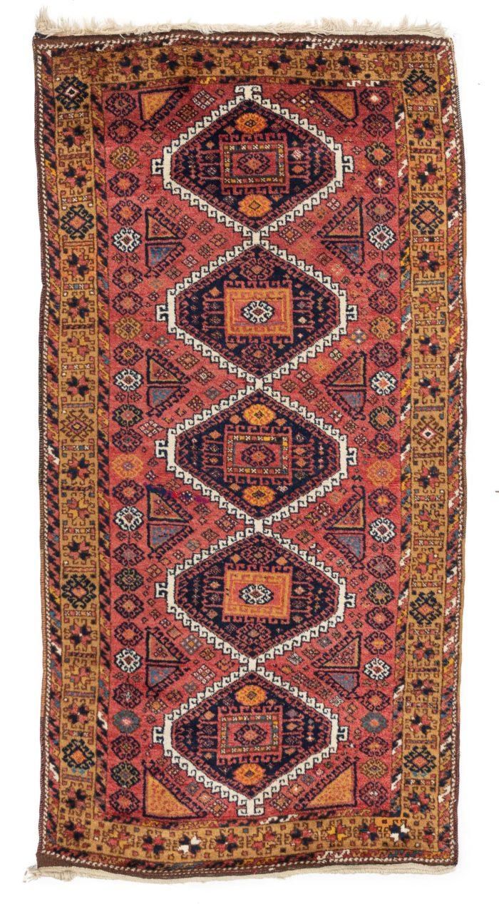 """Antique Turkish Yoruk 4'7""""×9'10"""""""