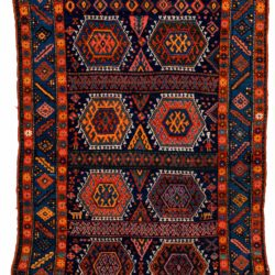 """Antique Turkish Yoruk 4'7""""×6'8"""""""