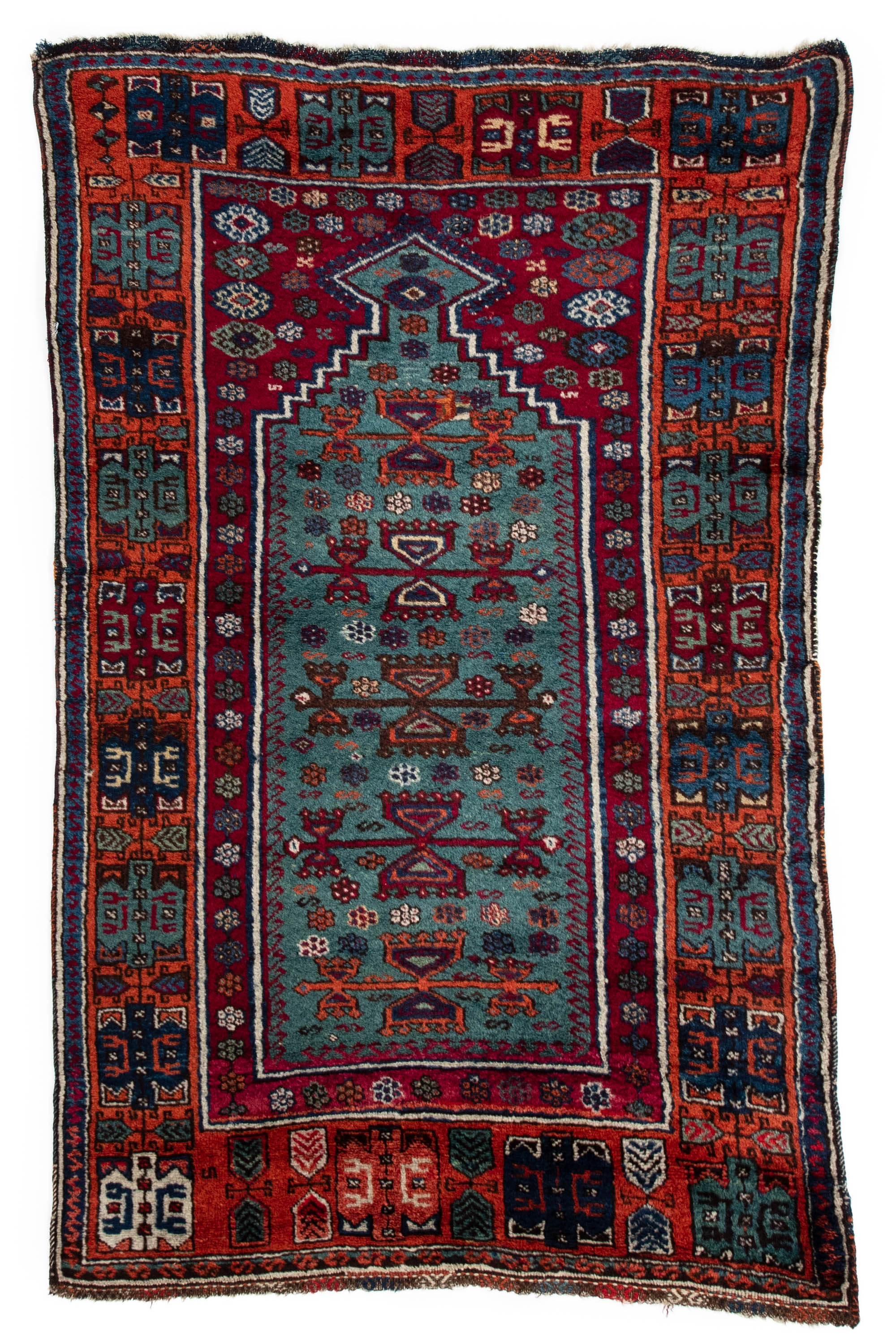 Antique Turkish Yoruk Prayer Rug 3 0 Quot 215 4 10 Quot
