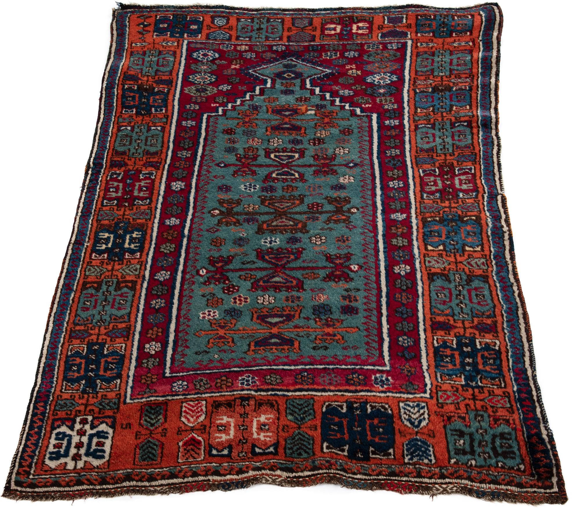 Antique Turkish Yoruk Prayer Rug 3 0 Quot 215 4 10 Quot