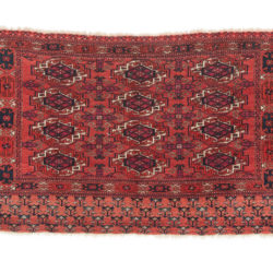"Antique Turkman Chuval 3'1""×4'7"""