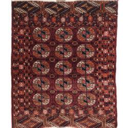 """Antique Turkman Rug 3'0""""×3'7"""""""