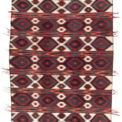 "Antique Turkman Yomud Kilim 6'5""×10'0"""