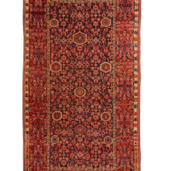 "Antique Turkmen Ersari 9'8""×17'6"""