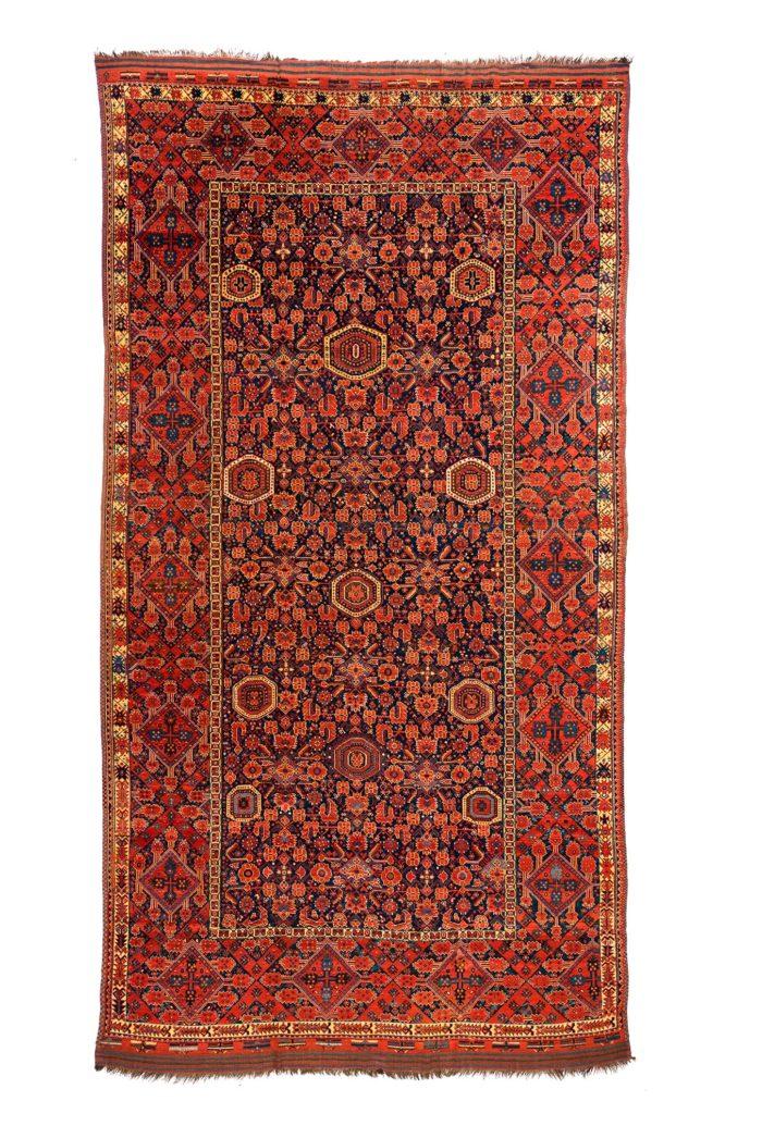 """Antique Turkmen Ersari 9'8""""×17'6"""""""