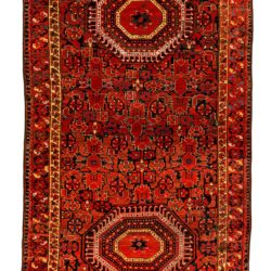 "Antique Turkmen Ersari 4'5""×8'0"""