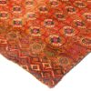 "Antique Turkmen Tekke Main Carpet 6'7""×10'4"""