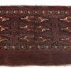 """Antique Turkmen Yomud Bagface 2'5""""×4'3"""""""