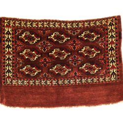 "Antique Turkmen Yomut Juval 2'7""×3'9"""