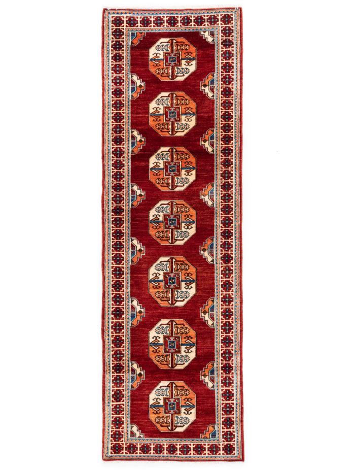 "New Afghan Ersari Rug  3'0""×9'0"""