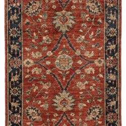 "New Afghan Hand-Knotted Wool Rug 3'0""×4'8"""