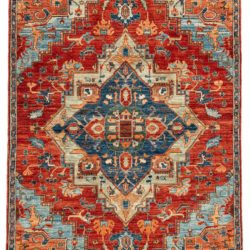 "New Afghan Heriz Transitional 6'0""×8'10"""