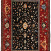 "New Afghan Heriz-style Mansion Carpet 14'7""×21'4"""