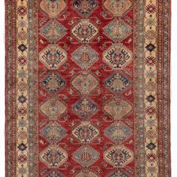 """New Afghan Kazak Rug 6'0""""×9'3"""""""