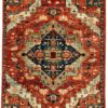 "New Afghan Transitional Heriz 7'10""×10'1"""