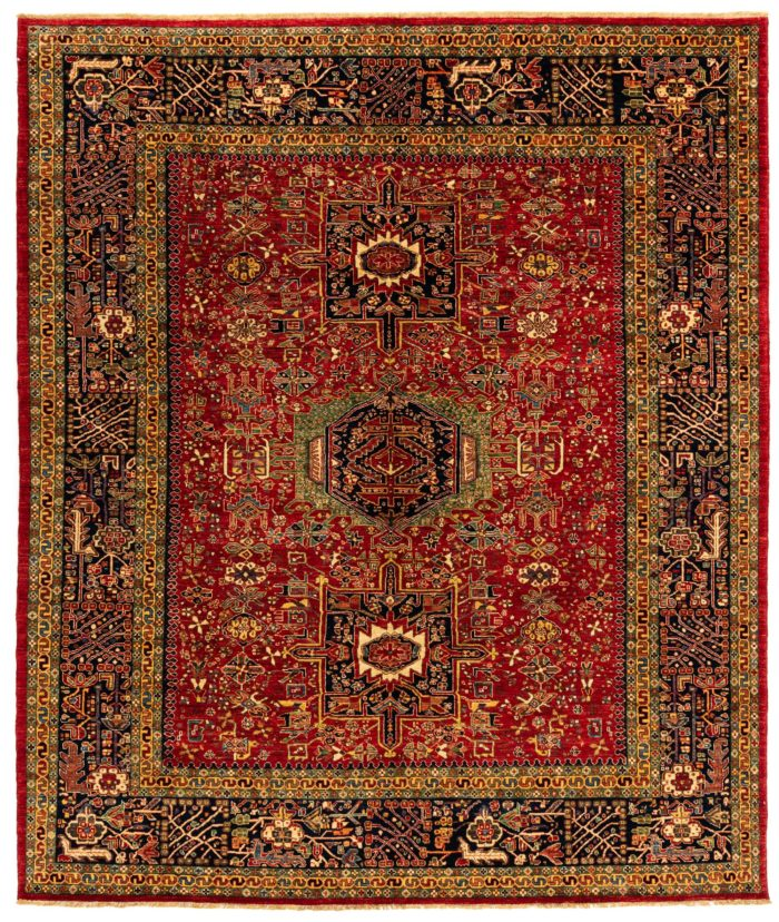 "New Afghan Transitional Karadja 8'2""×9'8"""
