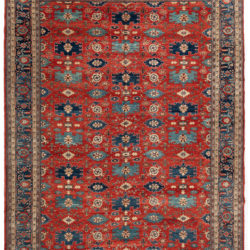 "New Afghan Transitional Rug 9'10""×13'4"""