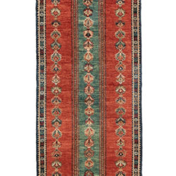 "New Afghani Tribal Runner 3'0""×9'4"""
